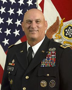 General Ray Odierno, US Army.  Currently Chief of Staff of the Army.  One of my favorites...from his way of handling situations, his men and women serving with him, and a few other things that mean a lot to me.