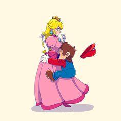 Mario Y Luigi, Super Mario And Luigi, Super Mario Games, Super Mario Art, Super Mario Brothers, Metroid, Mario And Princess Peach, Nintendo Princess, Princesa Peach