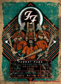 Foo Fighters Fenway Park 2015 Brad Klausen