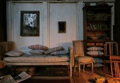 miniature scale 1:12 Scale, Bedrooms, Miniatures, Dolls, Interior, Pictures, House, Painting, Art