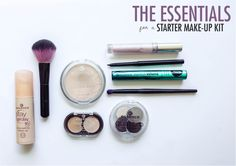 The Essentials for a Starter Make-up Kit #makeup #makeupaddict #makeuplook #beauty #beautyblogger #bblog #bblogger #fotd #makeupproducts