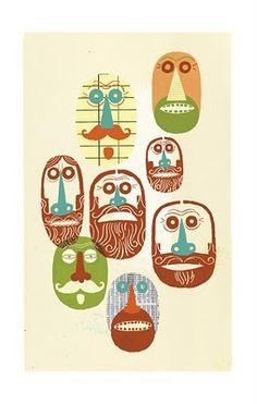 many beards