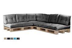 Palettenkissen Palettenpolster Paletten Kissen Sofa Polster In-Outdoor Ecke in Möbel & Wohnen,Möbel,Sitzbänke & Hocker | eBay