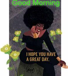 Black Girl Cartoon, Black Girl Art, Black Girl Magic, Art Girl, African American Birthday Cards, African American Art, African Art, Black Women Quotes, Black Women Art