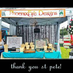 PhoenixFireDesigns had an AMAZING day at clcraftsanddrafts today!!  It was overcast and muggy but the rain stayed away all day and everyone came out in droves to this awesome event!!  Thank you stpete for supporting local makers and doing your part to shopsmall and shoplocal! ! Thanks to @cltampabay for another fantastic event!!   by phoenixfiredesigns