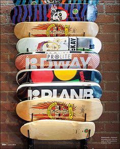 How to Sell Skateboards? No, I don't know the best way to sell skateboards. and their Boardriders retail outlet do know Skate Decks, Skateboard Decks, Shop Plans, Skateboards, Skating, Decorating Tips, Boy Fashion, Project Ideas, Projects