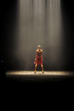 Karlie Kloss, making it work at Lanvin, spring 2012
