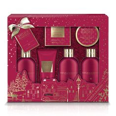 Baylis & Harding Bathing Gift Set, Midnight Fig and Pomegranate RRP: Price: & FREE Delivery in the UK. Delivery Details You Save: Cosmetic Packaging, Beauty Packaging, Packaging Design, Parfum Victoria's Secret, Professional Makeup Kit, Valentines Gift Box, Makeup Package, Cosmetic Design, Cool Gifts For Women