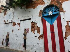 Mi isla, mi gente, mi bandera. Te quiero mucho Puerto Rico.