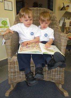 Brothers…a story shared in our new rocking chair.