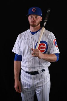 Men/'s Hoodie Ian Happ Hoodie Ian Happ Stripes R Wht Chicago C Baseball