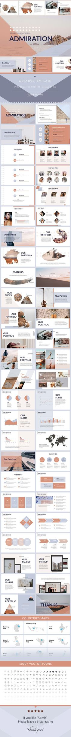 Admir - PowerPoint Presentation Template