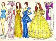 Jane Seymour | Gabi's Paper Dolls