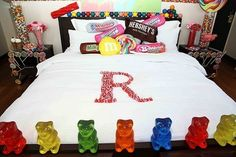 Candy-themed room inspired and designed by Dylan's Candy Bar.