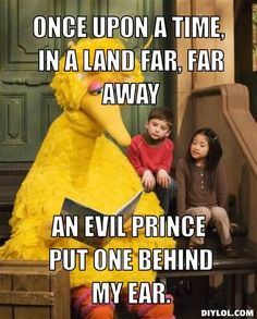 Big Bird goes Goodfellas