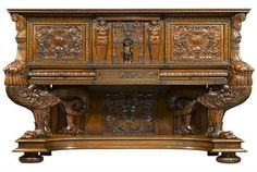 sideboard - Created and designed in the 1580s, this piece is from the height of the French Renaissance.