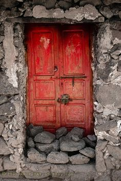 A Berber house door   ..rh
