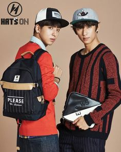 'Hats On' for F/W line featuring B1A4