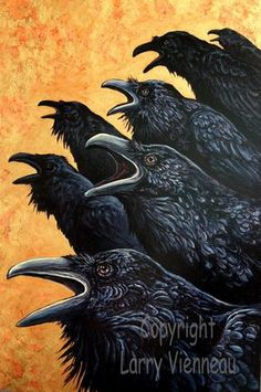 Inquisition raven painting acrylic painting crow by RAVENSTAMPS The Crow, Crow Painting, Large Painting, Black Bird Fly, Raven Mask, Crow Bird, Handmade Paint, Jackdaw, Crows Ravens