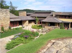 Haunted Taliesin House, Spring Green Wisconsin One Frank Lloyd Wright's ome