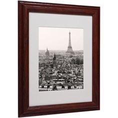 Trademark Fine Art Paris Matted Framed Art by Pierre Leclerc, Size: 11 x 14, Multicolor