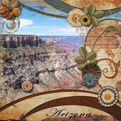 A picture of the Grand Canyon.  Kit used: The Spirit of Nature bundle by Paty Greif available at https://www.pickleberrypop.com/shop/product.php?productid=41416&page=1  Template: PrelestnayaP's Full of Memories Vol. 33 available at http://www.gottapixel.net/store/product.php?productid=10022648&cat=0&page=1