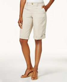 Essentials 10 Inseam Solid Bermuda Short Donna