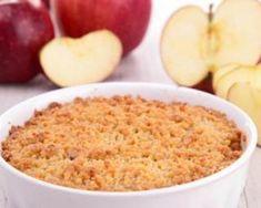 Tarte aux pommes façon crumble : http://www.fourchette-et-bikini.fr/recettes/recettes-minceur/tarte-aux-pommes-facon-crumble.html