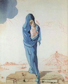 Maria en kindje Jezus