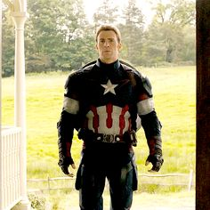 Chris Evans His shoulders are broader than the shield.
