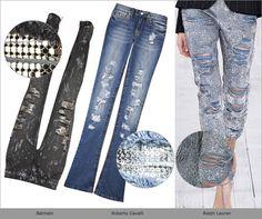 Актуальные джинсы сезона |Осень-зима 2015-2016 на Fashion-fashion.ru