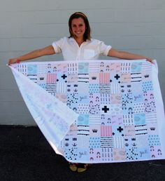 Ever wanted to make a quilt in one day? Now you can!  How to design your own cheater quilt.