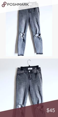 Grey pacsun pants Really soft and comfortable! Used to be my favorite jeans! PacSun Jeans Skinny