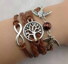 Wishing Tree- Brown - Harlow and Liv. In stock NOW:)  Click the pic to view more options!