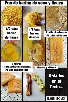 Pan de harina de coco