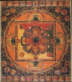 Sastradhara Hevajra Central Tibet, century x cm Buddhist Beliefs, Buddhist Symbols, Buddhist Art, Tibetan Mandala, Tibetan Art, Mandala Drawing, Mandala Art, Tantra, Art And Architecture