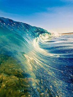 calm of the sea. #wave #ocean #beach