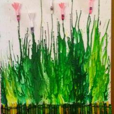 Crayon art. I actually made this!