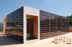Onyx Solar PV Ventilated Façade for the SML House