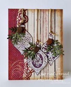 Our Daily Bread Designs Stamp set: Elegant Embellishments, Our Daily Bread Designs Paper Collection:Christmas 2015, Our Daily Bread Designs Custom Dies: Elegant Embellishments, Leafy Edged Borders, Fancy Foliage