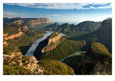 Blyde River Canyon, South Africa - hard to believe I've actually been here!