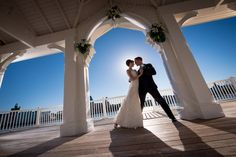 Dancing to the beat of love at Sea Breeze Point in Disney's BoardWalk Resort. Photo: Ali, Disney Fine Art Photography