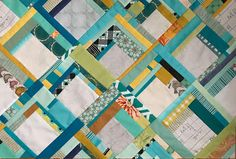 A great tutorial for making log cabin quarter blocks with scrappy strips. Log Cabin Quilts, Log Cabins, Rustic Cabins, Quilting Rulers, Scrappy Quilts, Baby Quilts, Free Motion Quilting, Cool Patterns, Quilt Patterns