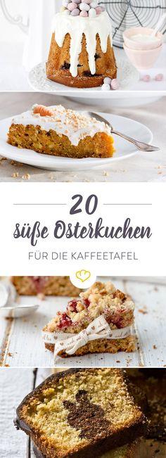 Ostern ohne Kaffeeklatsch? Das wäre wie Frühling ohne Tulpen. Egal, ob Sahneorte oder fruchtiger Kuchen, mit diesenOsterkuchenbist du bestens ausgestattet.