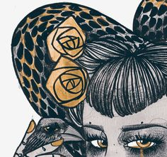 the golden hate on Behance