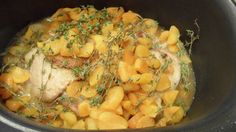 Braised Pork with Apricots and Thyme