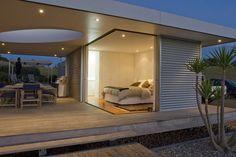 Guest Pavilion Backyard Studio, Rooftop Pool, Beach Houses, Pavilion, Spaces, Vacation, Furniture, Design, Home Decor