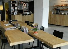 Eindhoven, The Netherlands Cofee Shop, Reading Table, Coffee Company, Eindhoven, Cafe Interior, Netherlands, Modern, Inspiration, Shopping