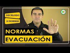 normas de evacuación - YouTube Norman, Videos, Peace, Youtube, Youtubers, Room