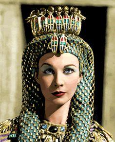 Vivian Leigh as Cleopatra